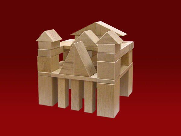 Детские кубики деревянные своими руками