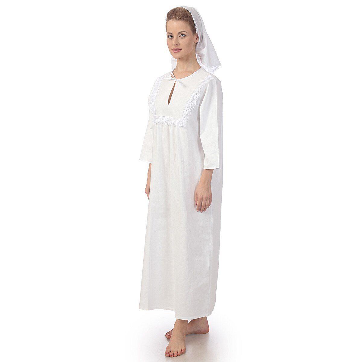 b05084cb2410338 Купить женскую крестильную рубашку для купания в святом источнике и ...